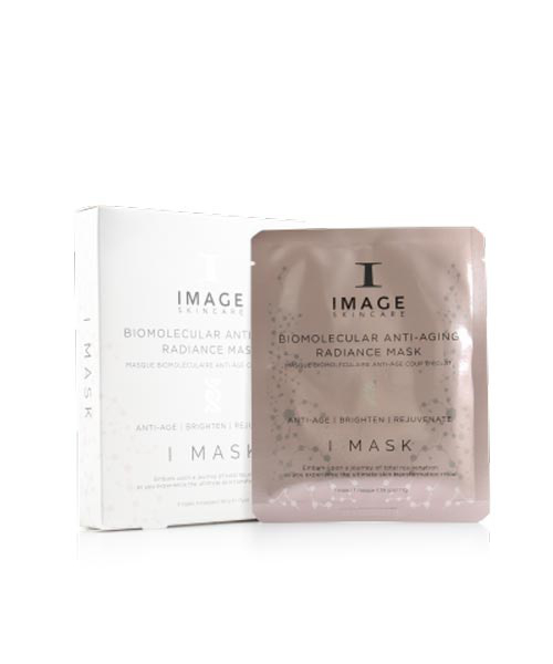 Гидрогелевая маска Anti-Age IMAGE Skincare I Mask Biomolecular Anti Aging Radiance Mask (5 шт)