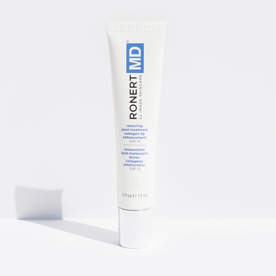 Восстанавливающий гель для губ МД SPF 15 MD Restoring Post-Treatment Collagen Lip Enhancement SPF 15